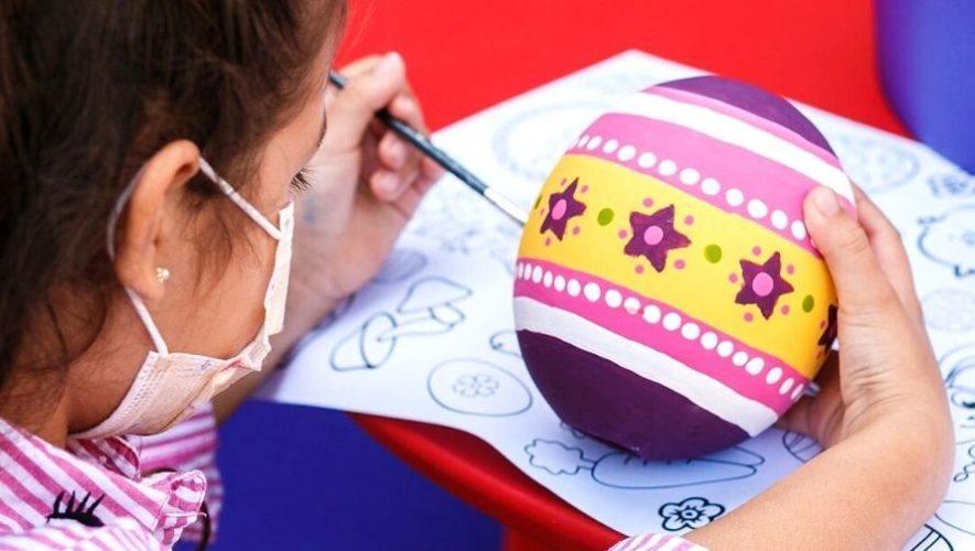 Taller de decoración de huevos de pascua   Marzo 2021