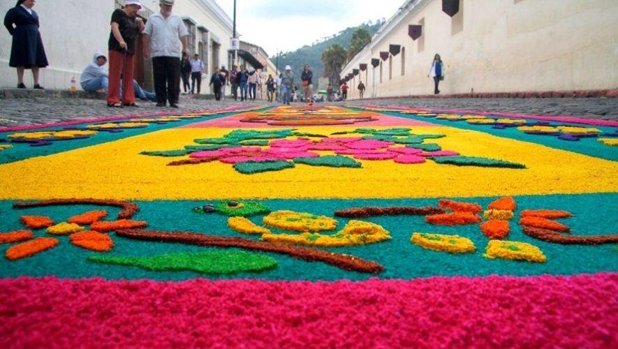 Taller gratuito de elaboración de alfombras de Semana Santa, Antigua Guatemala | Marzo 2021