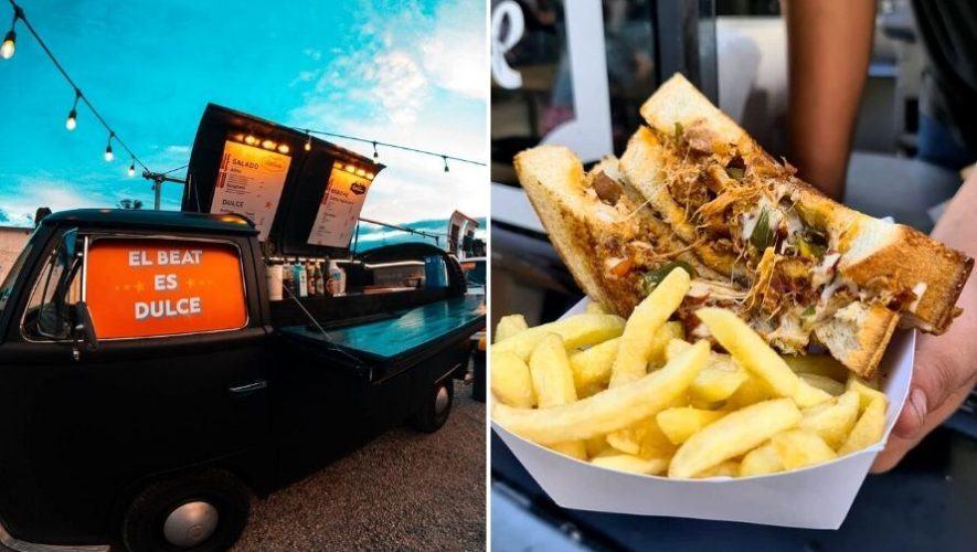 Todo lo que puedas comer en una plaza de foodtrucks en Guatemala | Marzo 2021