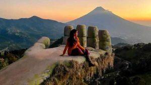 Viaje a Hobbitenango y visita al jardín de girasoles, Antigua Guatemala | Marzo 2021