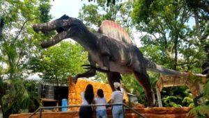 Viaje al parque de dinosaurios Dino Park en Retalhuleu   Marzo 2021