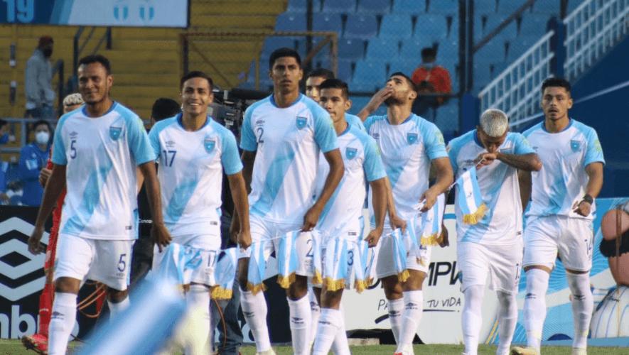 alineacion Guatemala vs. Islas Vírgenes Británicas, Eliminatorias a Qatar 2022