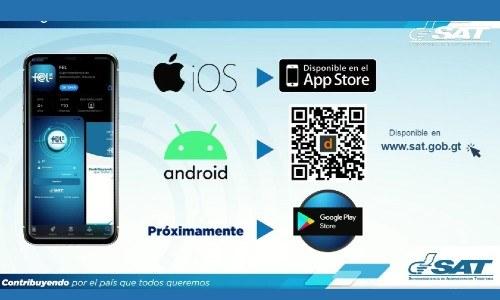 app-fel-sat-guatemala-implemento-nueva-aplicacion-movil-facturas-electronicas-contribuyentes-tramite-en-linea