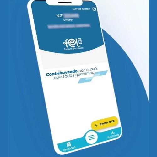 app-fel-sat-guatemala-implemento-nueva-aplicacion-movil-facturas-electronicas-gratuita-agencia-virtual