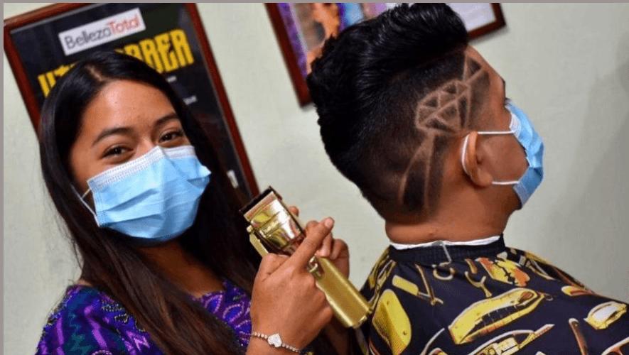 ericka-perez-lady-barber-quetzaltenango