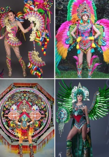 guatemalteco que diseña trajes para reinas de bellezas