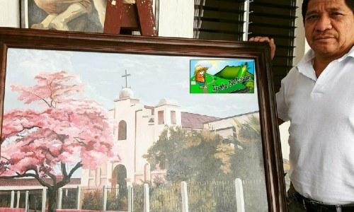 mario Fabian Mellado Díaz Ipala pintor maestro artista formación académica ipalteco chiquimula