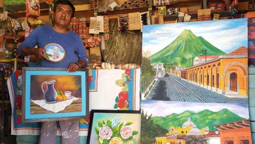 ricardo-cruz-ramos-artista-san-agustin-acasaguastlan-busca-apoyo-para-vender-pinturas