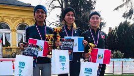 Mayra Herrera ganó medalla de oro en  55th Olomoucká Dvacítka Race Walking