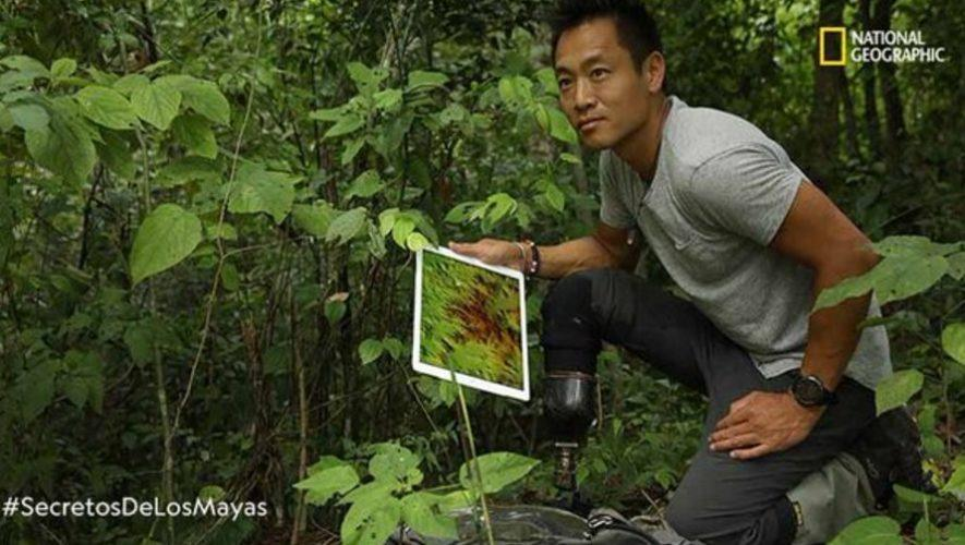 Albert Yu Min Lin, explorador de National Geographic está en Guatemala