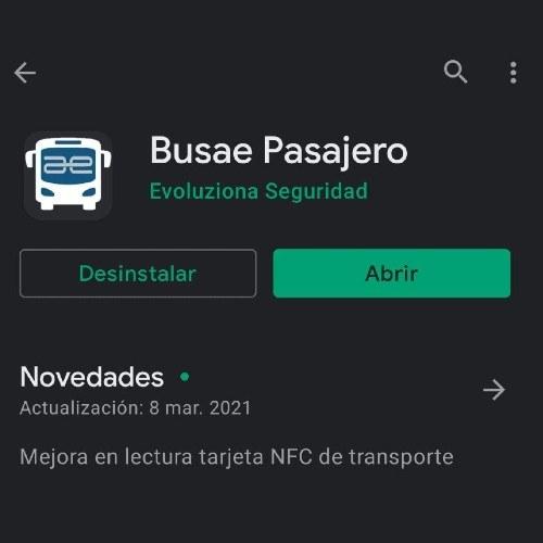 Busae Pasajero, la app móvil paraverificarlos horarios y estaciones de los buses Express Mixco