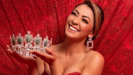 Candidatas guatemaltecas que participan en el certamen de Miss Guatemala Latina 2021
