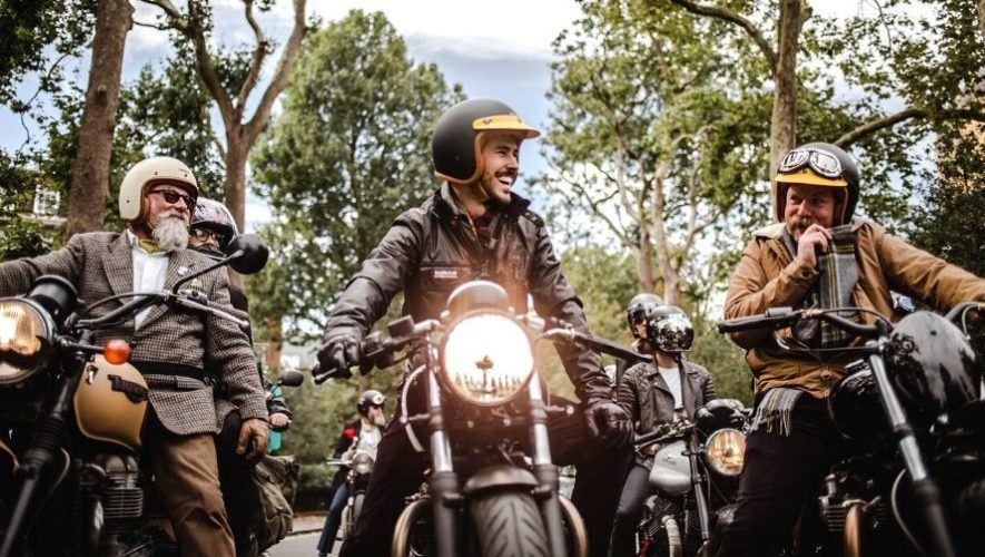 Caravana y exhibición de motocicletas clásicas en Guatemala | Mayo 2021