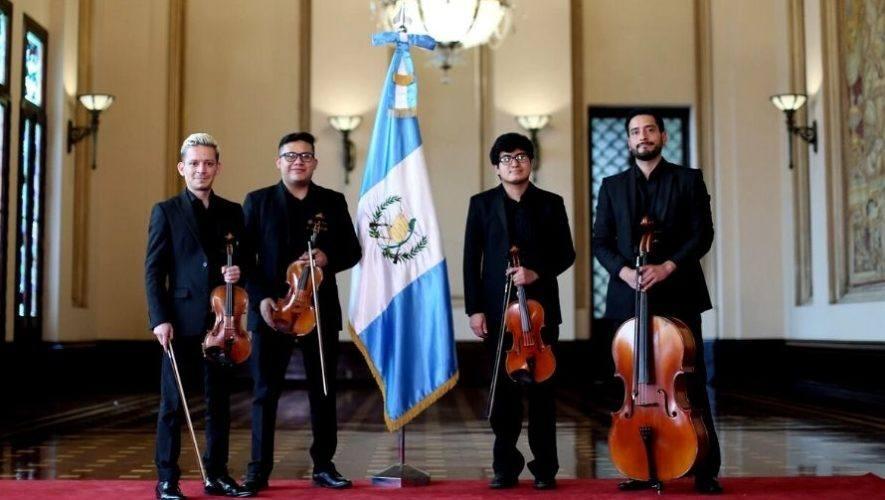 Concierto gratuito y en línea del Cuarteto Asturias | Abril 2021
