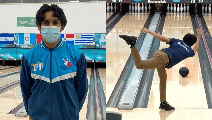 Diego Aguilar se colgó la medalla de oro en el XIX Campeonato Panamericano Juvenil 2021