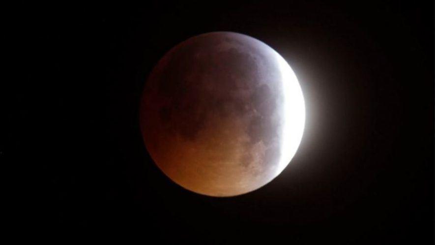 Eclipse total de luna en Guatemala   Mayo 2021