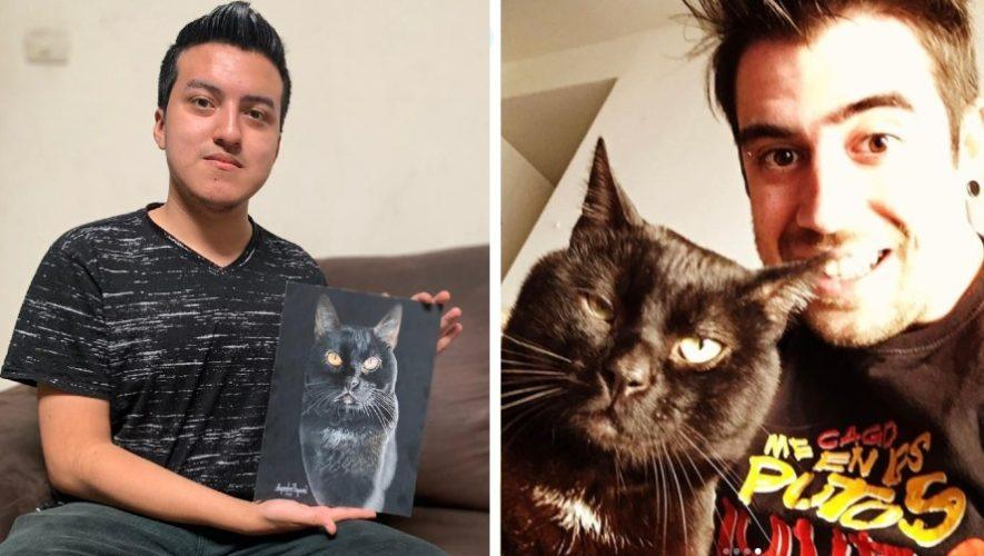El youtuber AuronPlay compartió y reaccionó al talento del guatemalteco Alejandro Requena