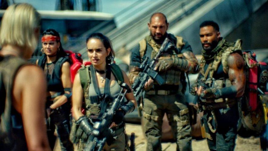 Estreno de la película Ejército de los Muertos, Netflix Guatemala   Mayo 2021
