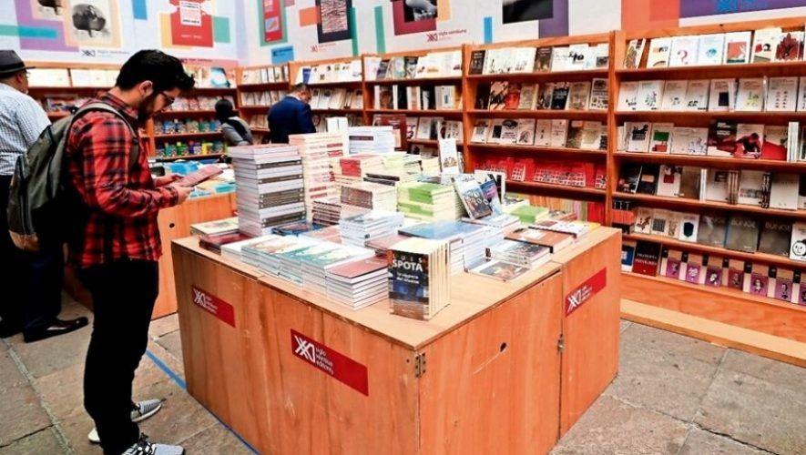 Feria gratuita de editoriales y libros en la Ciudad de Guatemala | Abril 2021
