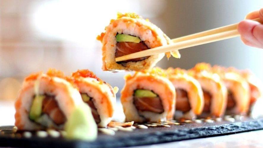 Festival de sushi en los Hostales del Irtra | Abril 2021