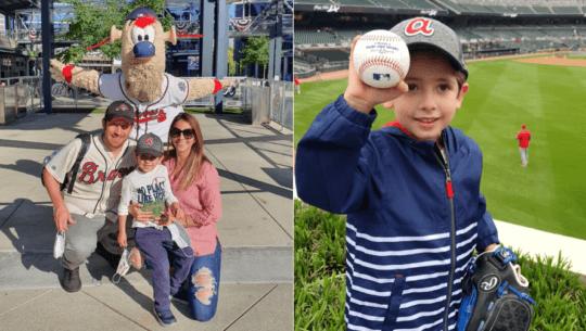 Grandes Ligas de Béisbol destacó historia de Luca Morales al conocer a Ronald Acuña Jr
