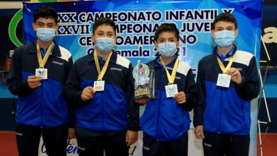 Guatemala ganó 10 medallas en el arranque del Campeonato Centroamericano U-15 y U-19 2021