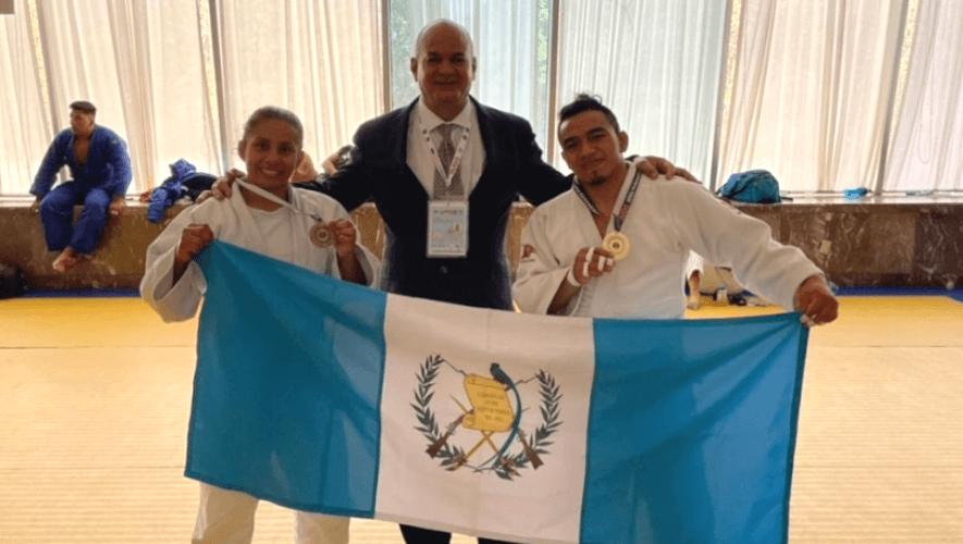 Guatemala ganó medalla de oro y bronce en el Open Panamericano de Guadalajara 2021