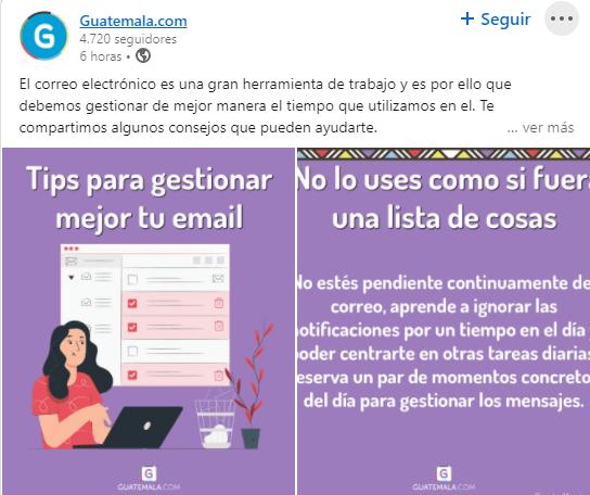 Guatemala.com creó iniciativa de plazas de trabajo disponibles para guatemaltecos informacion