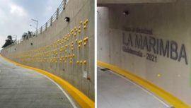 Inauguraron paso a desnivel La Marimba en Bulevar Vista Hermosa, Zona 15, Ciudad de Guatemala