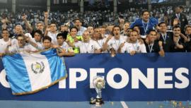 La selección de futsal que se proclamó campeona de la Concacaf en 2008