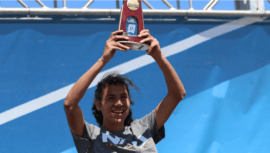 Luis Grijalva ayudó a Northern Arizona a ganar el Campeonato NCAA DI de Cross Country 2021