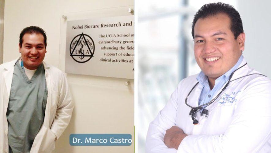 Marco Antonio Castro, dentista guatemalteco nominado a los 100 médicos sobresalientes en el mundo