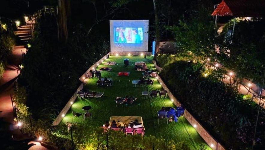 Megacinema al aire libre en un jardín ecológico en Guatemala | 2020