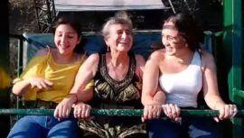 Mirian Ávila, la abuelita zacapaneca que disfrutó del columpio más grande de Guatemala