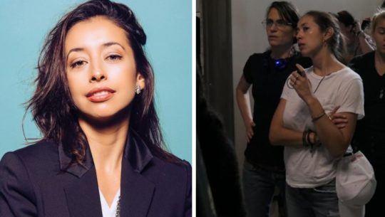 Mónica Walter Palmieri fue primera asistente de dirección en nueva película de Amanda Seyfried