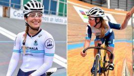 Nicole Hacohen logró la cuarta posición en los 200 metros de ciclismo de pista en Bélgica (2)