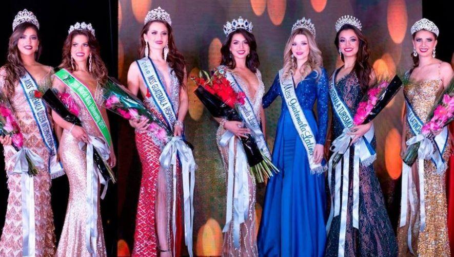 Premiación del certamen Miss Guatemala Latina 2021 | Abril 2021