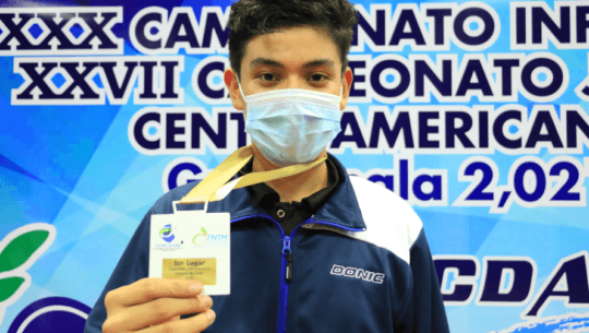 Ricardo Gatica se consagró con oro en el Campeonato Centroamericano U-15 y U-19 2021