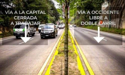 Rutas del paso a desnivel San Lucas a partir de abril 2021