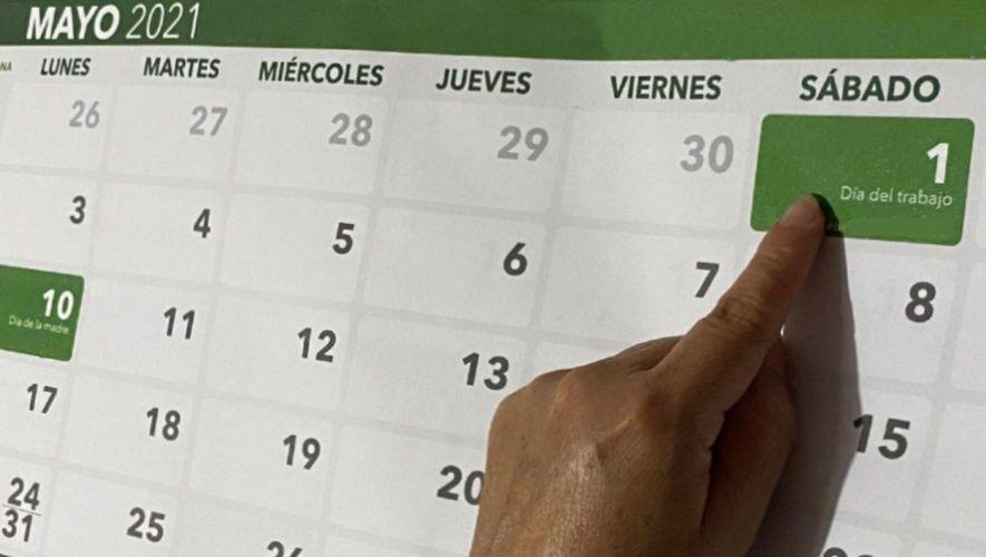 Se corre el asueto del 1 de mayo de 2021 en Guatemala por el Día del trabajador