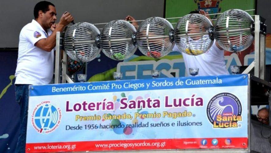 Sorteo No. 357, de 2 millones de quetzales, de Lotería Santa Lucía | Abril 2021