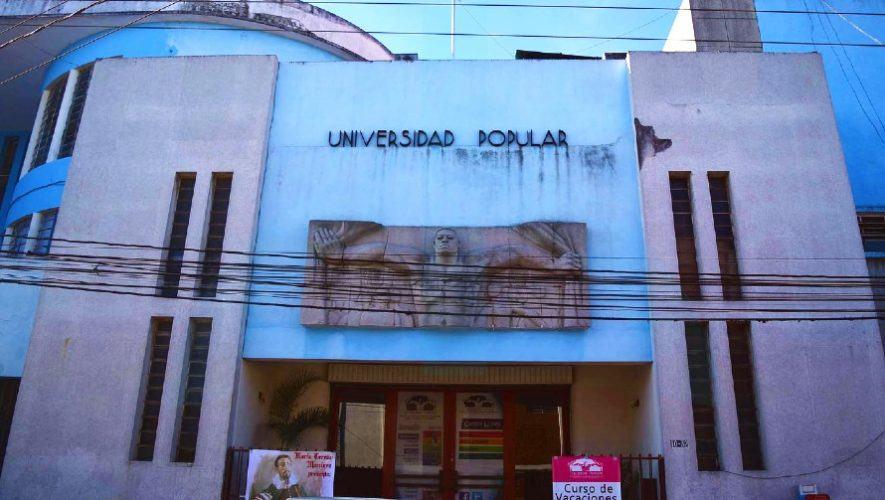Universidad Popular de Guatemala ofrece nuevos cursos virtuales en abril 2021