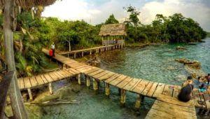 Viaje a Laguna Lachuá y río Sachicha, Alta Verapaz   Abril 2021