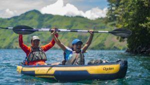 Viaje y recorrido en kayak por la Laguna de Ayarza | Mayo 2021