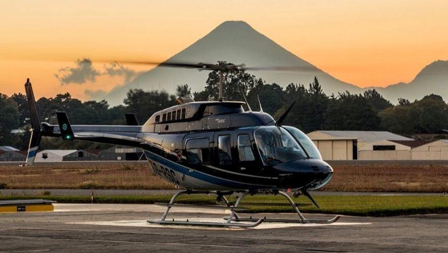 Vuelo en helicóptero por el Día de la Madre desde la Ciudad de Guatemala | Mayo 2021