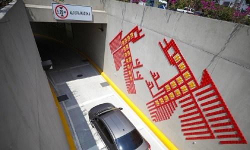 construcción del paso a desnivel la ceiba en zona 15 ciudad de guatemala