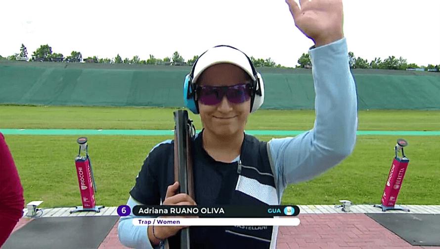 Adriana Ruano se quedó con el quinto lugar en la final de la ISSF Copa Mundial de Lonato 2021