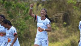 Andrea Álvarez obtuvo su sexto título como máxima goleadora de la Liga Nacional Femenina