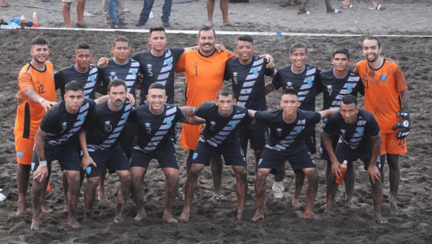 Calendario de partidos para Guatemala en el Premundial Concacaf de Playa 2021