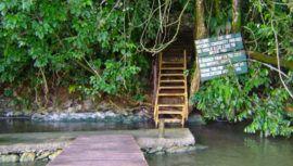 Cuevas de Aguas Calientes, el lugar con aguas termales en Izabal